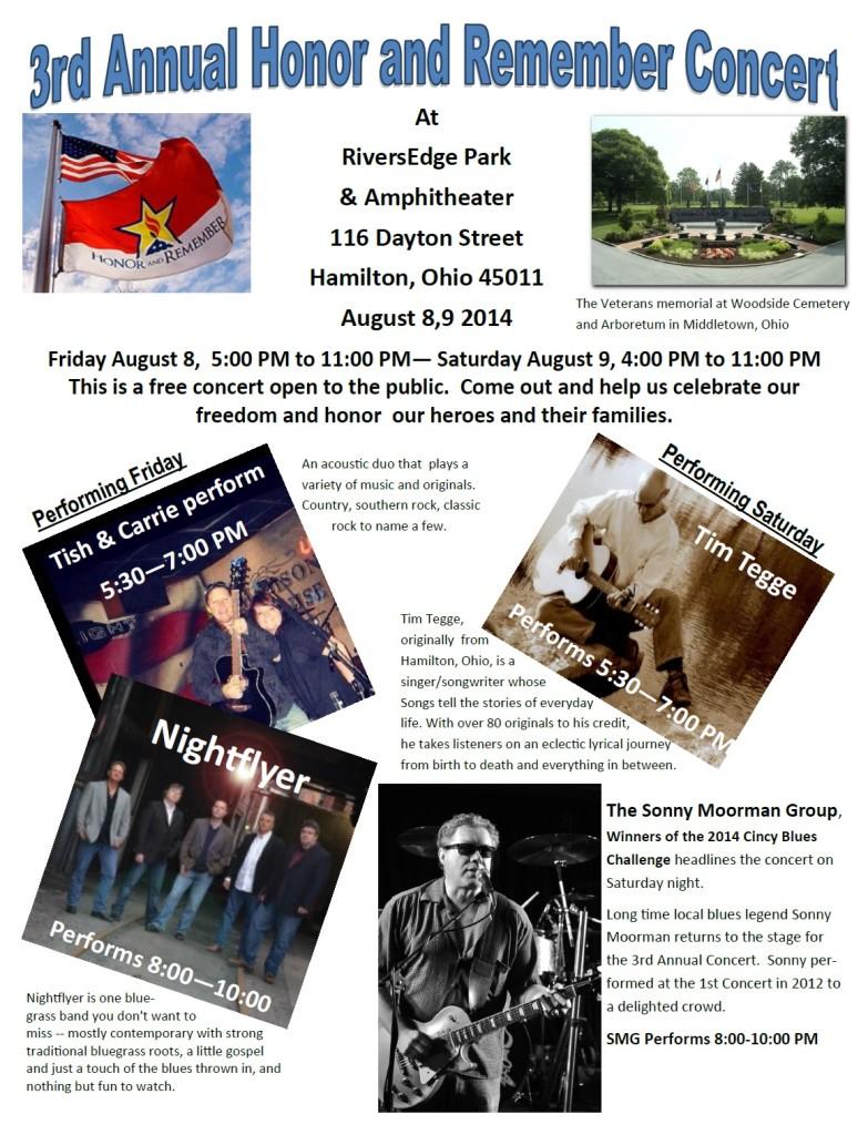 2014 Concert Flyer